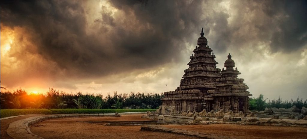 Shore Temple  (built in 700–728 AD) in Mahabalipuram, near Chennai. Pic: Storytrails