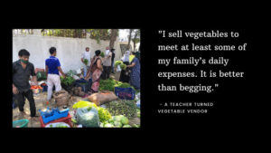 Educated, well employed Indians now selling vegetables in COVID-19