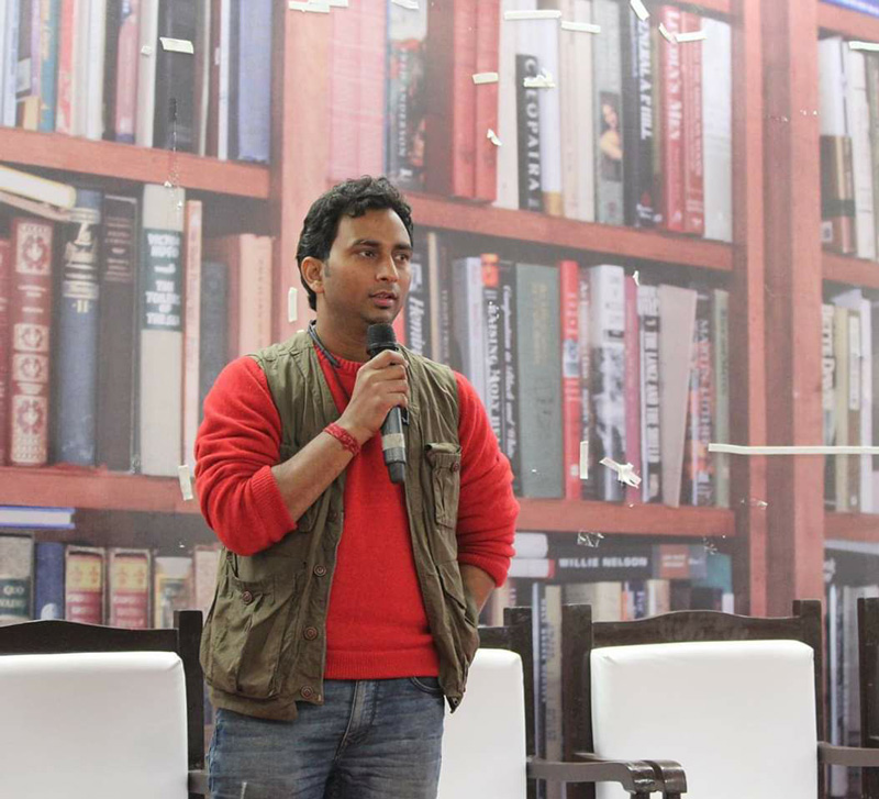 Kavishala: A personal blog that's now a global publishing platform for poets and writers. Here founder Ankur Mishra