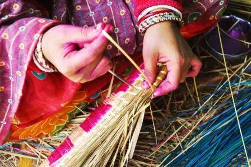 Bihar's Sikki grass craft finds global market amid rising demand for eco-friendly artifacts