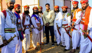 In pictures: Rajasthan's traditional turbans & the man making them trendy safa paag pagdi