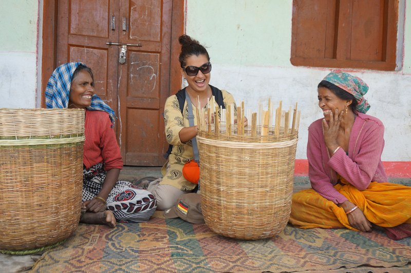 Interaction with local artisans to learn about the crafts is part of the stay. Pic:  through Fernweh Fair Travel