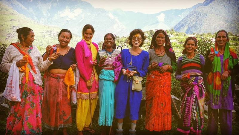 Himalayan homestay and eco-tourism empowering women in Uttarakhand Poonam Rawat-Hahne Peaches and Pears, her homestay, and Fernweh Fair Travel