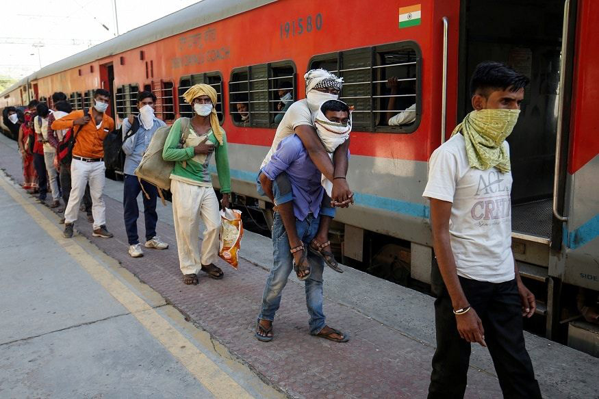 Shramik special trains started for migrants on May 1 did not have facilities for buying even water. Some migrants dies on the trains due to the scorching summer heat. No data is available on these deaths.