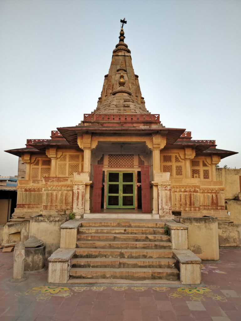 Kalki Mandir in the Jaipur Walled City is the only one dedicated to the 10th incarnation of Lord Vishnu. Pic: Jaipur Uncharted