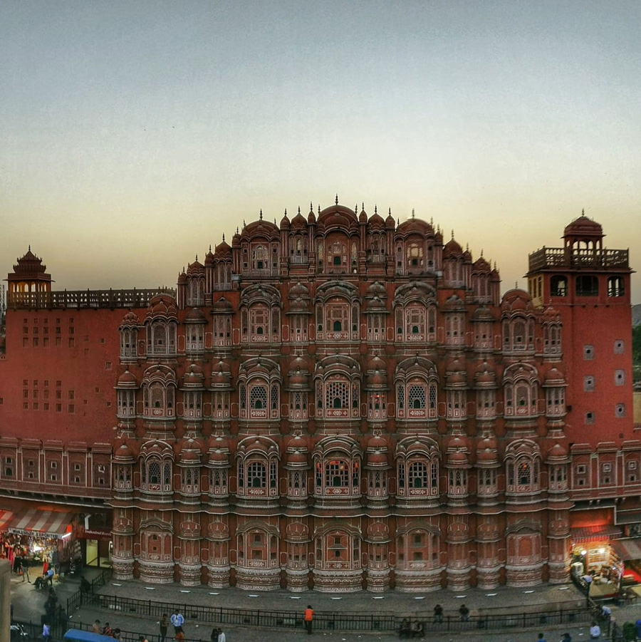 A walk through Jaipur's Walled City: the UNESCO world heritage site where kings lived hawa mahal tripoli govind devji temple kalki mandir 30 stades