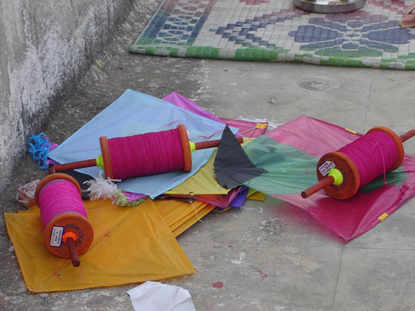 Kite flying is at its peak on Sankranti across India. Pic: Flickr