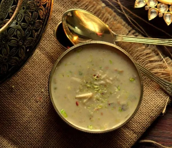 Roh di kheer - rice pudding in sugarcane juice - is made on Lohri. Pic: Flickr