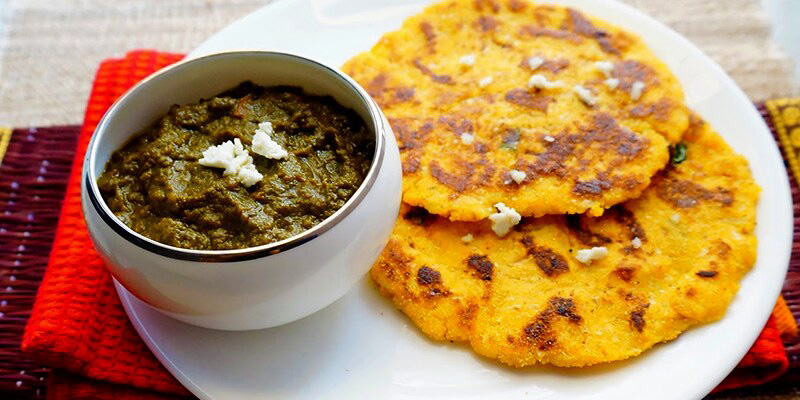 Sarson ka saag and makki ki roti is another Lohri dish though it is eaten throughout winters. Pic: Flickr