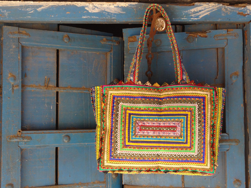 Pabiben.com's famous Pabi bag, which has buyers across the globe. Pic: Pabiben.com