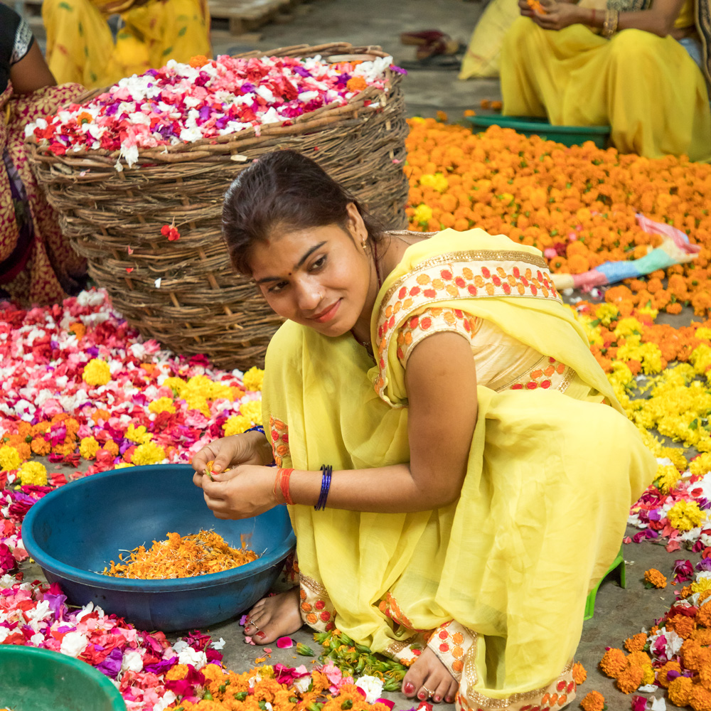 Phool has so far provided livelihood to 80 women from marginalised sections. Pic: through Phool
