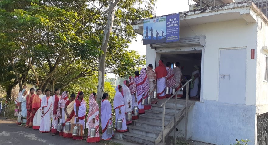Around 5,000 women from 70 villages of Sundarbans are now members of the cooperative . Pic: Sundarini