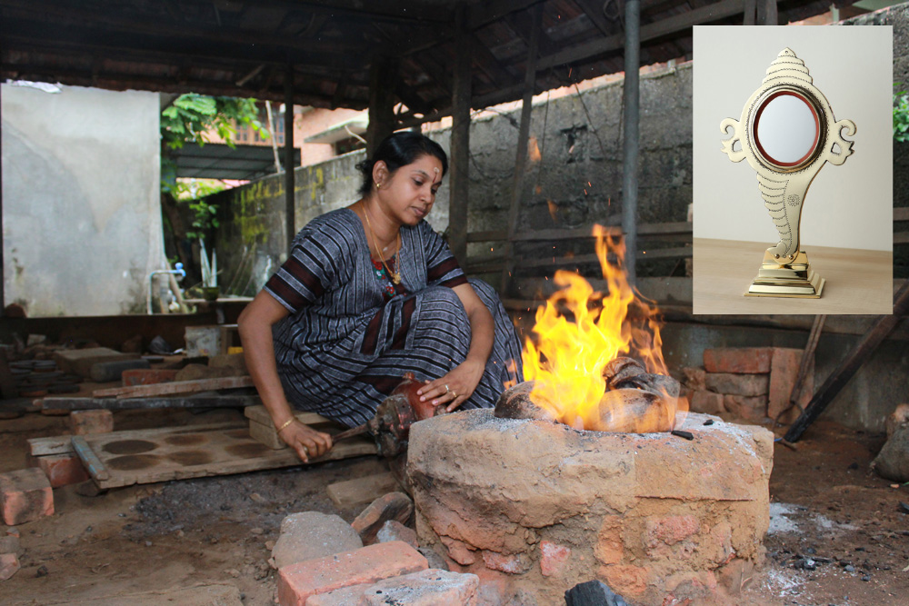 Aranmula Kannadi: How tech-savvy GenNext is preserving Kerala's 500-year-old metal mirror craft 30 stades process of making metal mirror