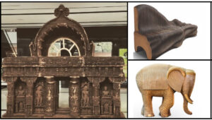 Meet Bandana Jain, who uses cardboard to make furniture, sculptures and more