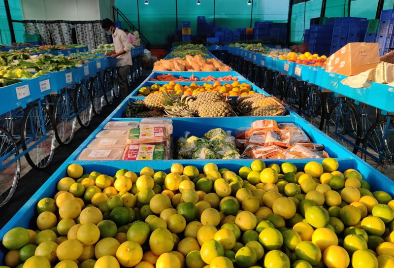 Humus procures over 100 commodities from nearly 1,000 farmers for sale at its three retail outlets in Bangalore. Pic: through Humus
