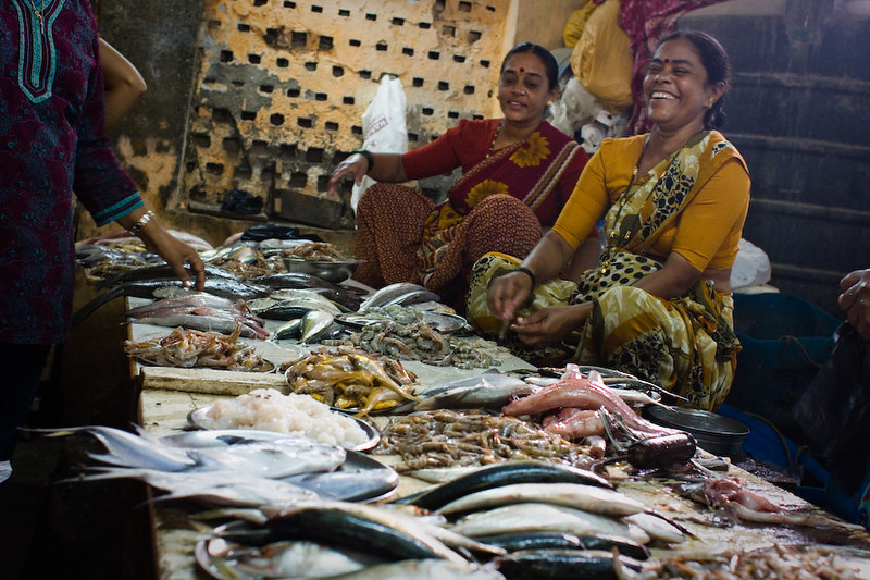 While Koli men conquer the seas, women have the last word in fish markets. Pic: Flickr