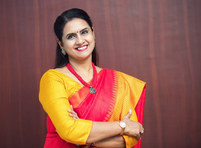 Dr Saundarya Rajesh, social entrepreneur and Founder-President, Avtar Group