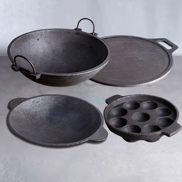 Zishta's cast-iron products are much in demand due to awareness around their benefits. Pic: Zishta 30 stades