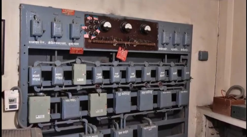 The theatre's electrical backend with marked boxes for various lights, fans, exhaust fans etc. Pic: Gem Cinema