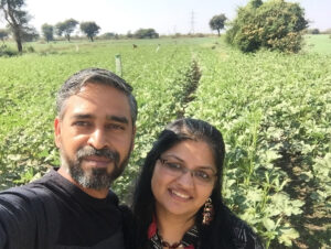 Banker during the week, farmer over the weekend: How Prateek Sharma built Bhopal's Green & Grains organic grocery start-up organic farming vs chemical farming 30 stades
