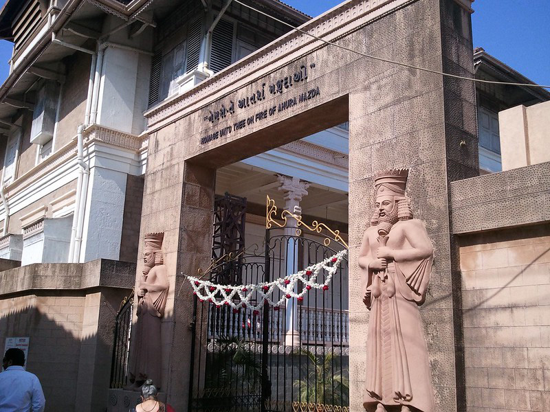 Iranshah Atash Behram temple at Udvada – the most revered Parsi pilgrimage centre in the country. Pic: Flickr 30 stades