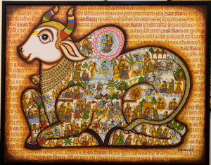 From Covid to elections and mythology to water conservation, the vast canvas of Phad paintings images kalyan joshi rajasthan 30 stades