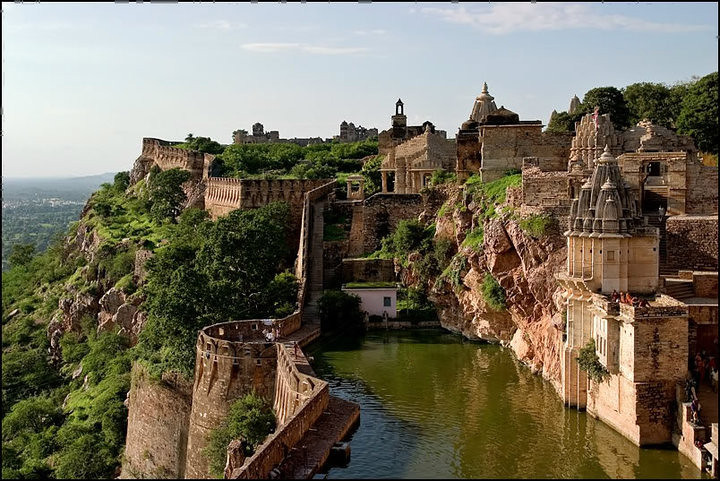 Chittorgarh Fort in Rajasthan is a UNESCO World Heritage Site. Pic: Flickr