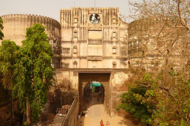 Entrance of Bhadra Fort in the walled city of Ahmadabad. Pic by Danish Kinariwala, UNESCO.
