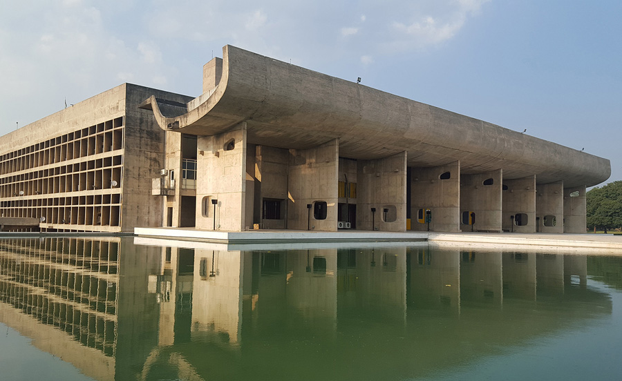 Capital Complex of Chandigarh. Pic: Flickr