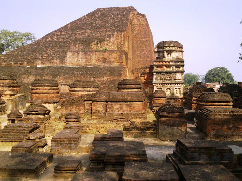 Nalanda was one of the earliest seats of learning in India. Pic: Flickr