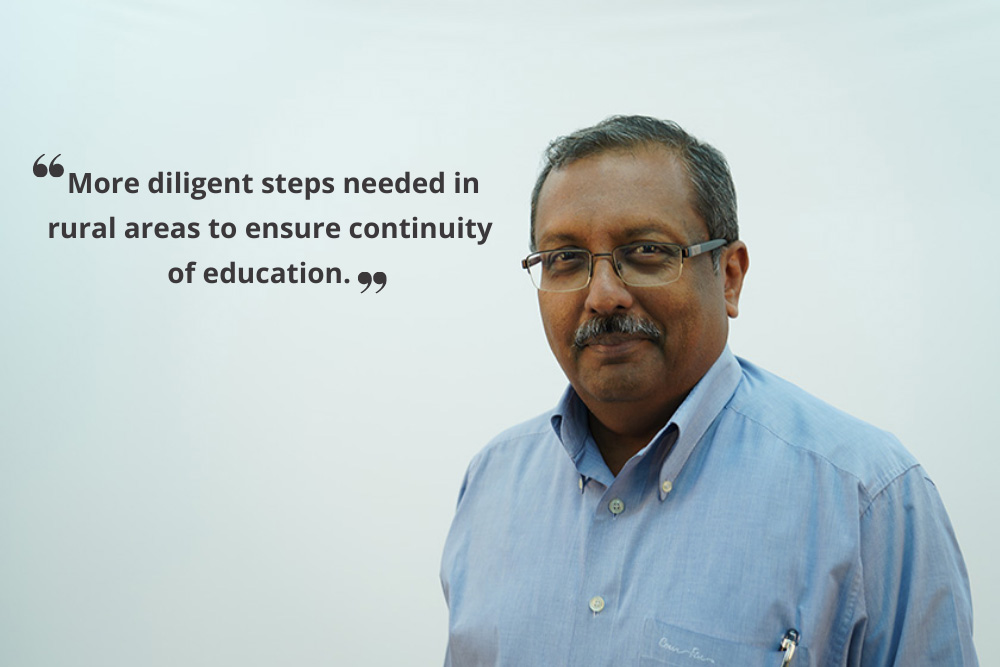 Build digital capacity for the education sector rural india 30 stades
