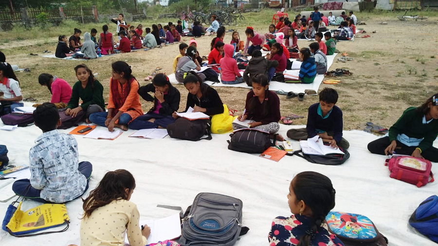 Abha Kunj: Zero-cost education gives a better future to Indore's underprivileged kids dr lalita sharma anant indore open air classes 30 stades