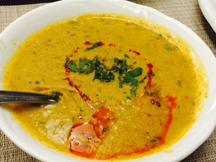 Phaanu or phanoo or phanu is made by soaking a dal or a combination of them overnight. They are then grounded into a paste and cooked. Pic: Flickr bhatt ki daal