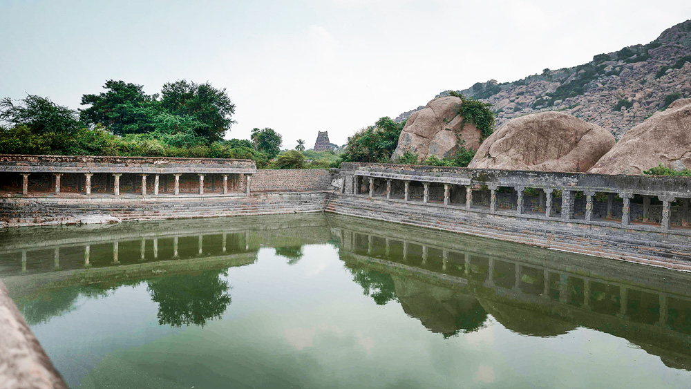 Elephant Pond at Gingee Fort. Pic: Flickr