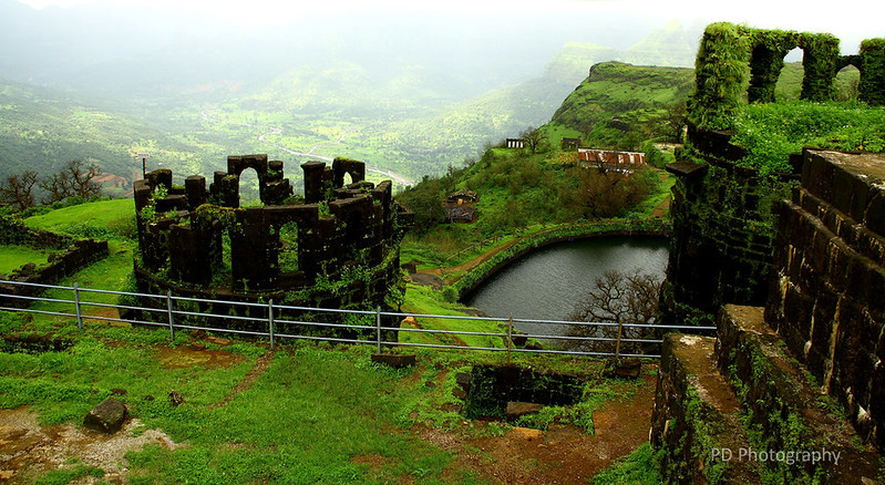 Water Conservation Forts Raigad Pune