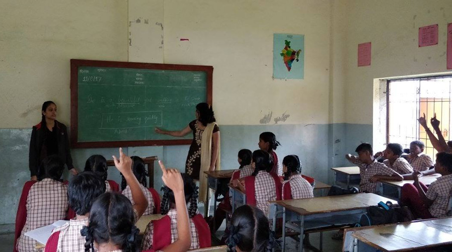 Listening, teaching & inspiring: How Chennai's TQI is mentoring underprivileged students across 30 districts TALENT QUEST FOR INDIA 30 STADES