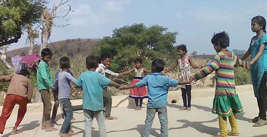 The harsh practice of mortgaging children is not uncommon in the tribal areas of Rajasthan. Pic: Vaagdhara