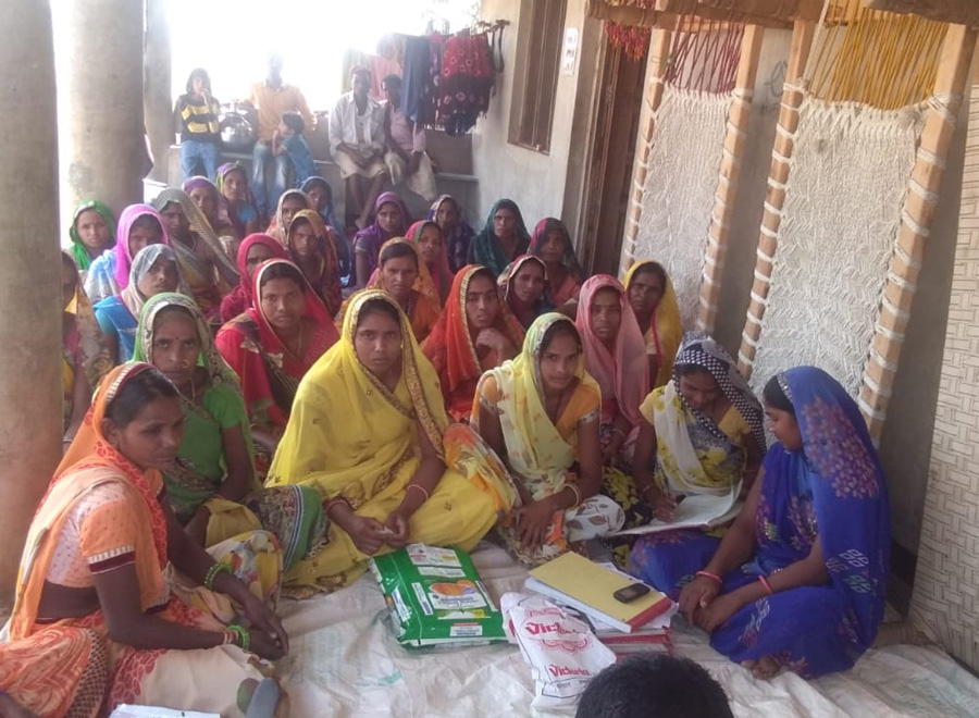 Women trained by Vaagdhara have set up nutrition gardens in their homes that has reduced malnutrition and anaemia. pic: Vaagdhara 30 stades