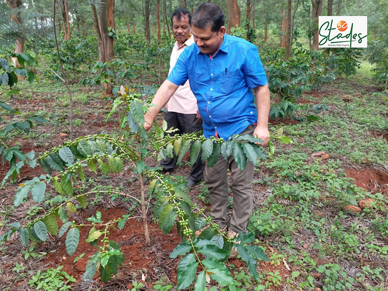 An Odisha Government official during field trip to coffee plantation in Koraput. Pic: Manish Kumar  30stades