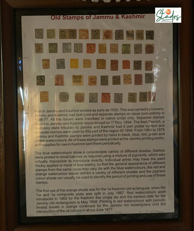 History of postal services in Jammu and Kashmir. Pic: Parsa Mahjoob 30stades