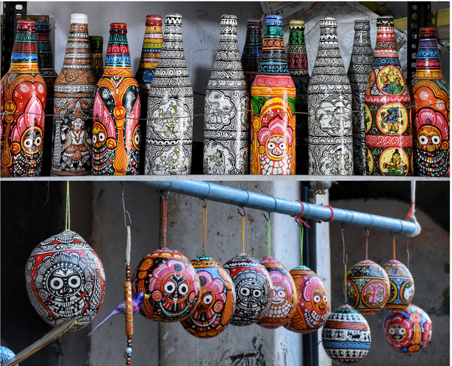 Pattachitra: Odisha's Raghurajpur turns hub of recycled art as artisans combine 12th century craft with sustainability 30stades