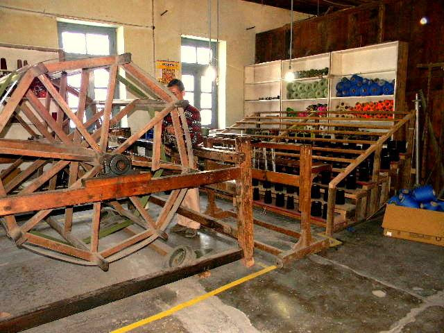 A traditional wooden warp machine or drum at a Bhuttico weaving centre. Pic: Facebook/@Bhuttico 30stades