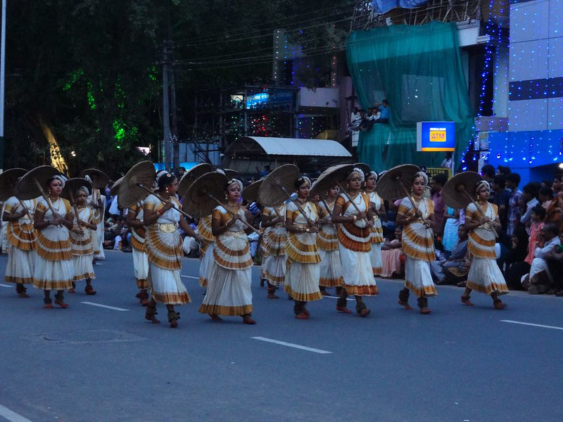A procession on the last day of Onam. Pic: Flickr 30 stades