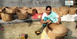 Aquatic weed water hyacinth gives rise to ecofriendly handicrafts industry in the North-East northeast assam sustainable craft nedfi basket bag coasters 30 stades