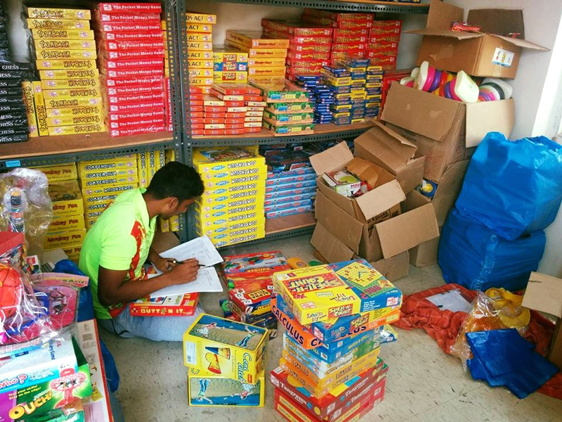 Toybank organises toy donation drives and also procures them directly from manufacturers. Pic: Toybank 30stades