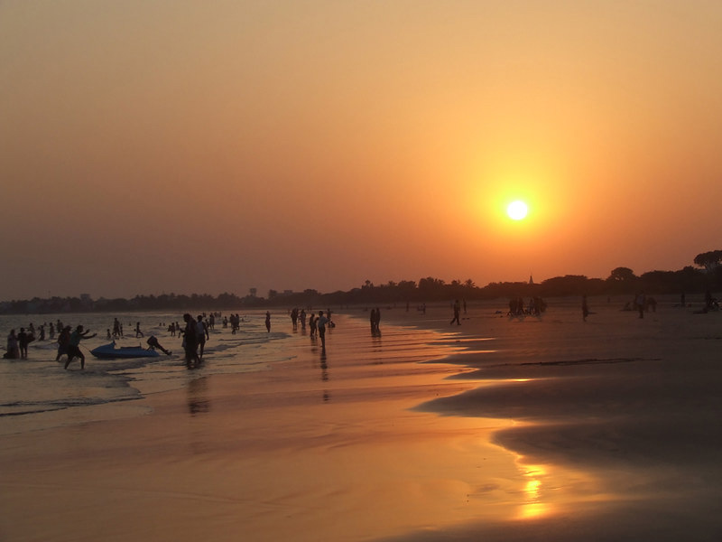 Ghoghla is the largestbeachof the Diu union territory and has Golden sand. Pic: Flickr