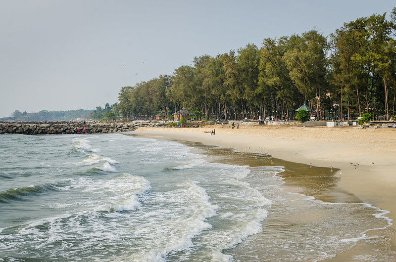 The pristine Kappad beach is a popular hangout for locals as well as tourists. Pic: Flickr 30 stades