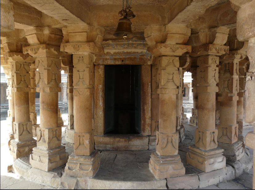 The Central chamber of Chausath Yogini Temple dedicated to Lord Shiva. Pic: Varun Shiv Kapur/Flickr 30 stades