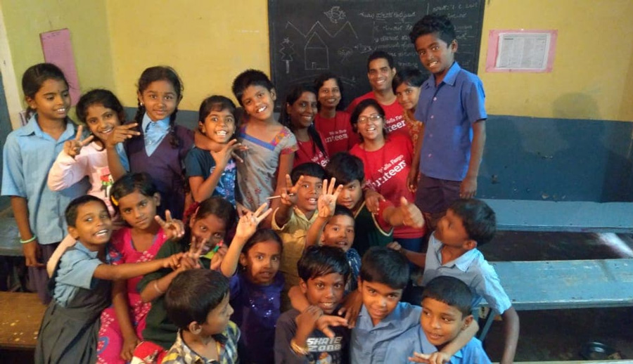 Mantra4Change's work has helped improve enrolment and check dropout rates. Pic: Facebook/@mantra4change