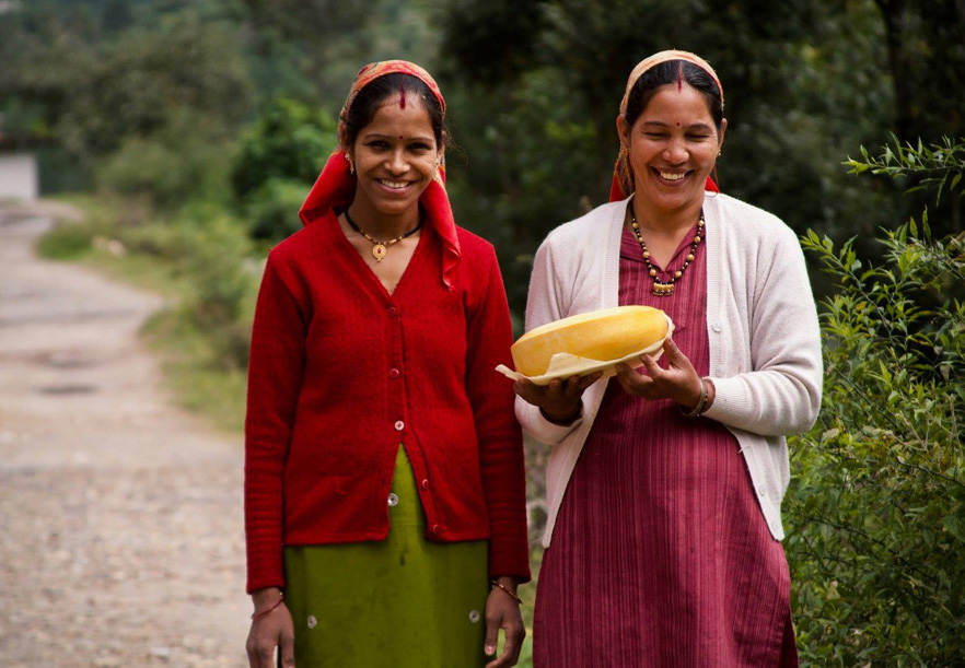 Old Hill Foods employs local women at at the the unit in Budi Buna village, Mukteshwar. Pic: Old Hill Foods 30 stades